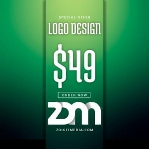 2 Digit Media Logo Design
