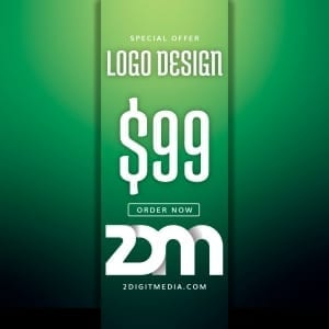2 Digit Media Logo Design 99